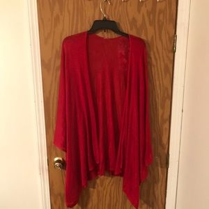 Sweaters - Red shawl